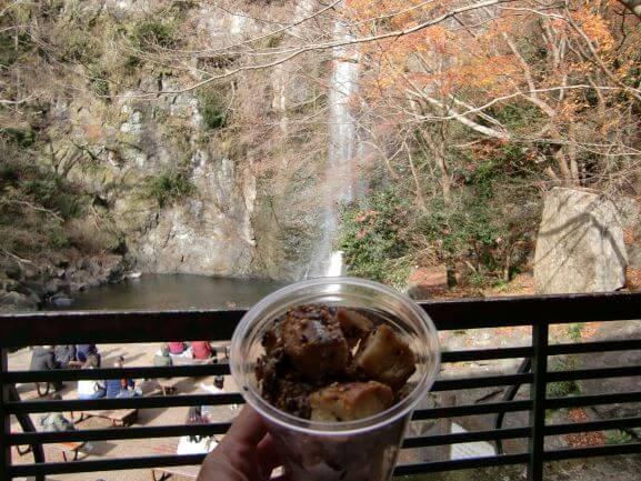 箕面の滝ごまコロフレンチトースト